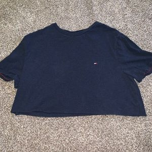 TOMMY HILFIGER cropped tee